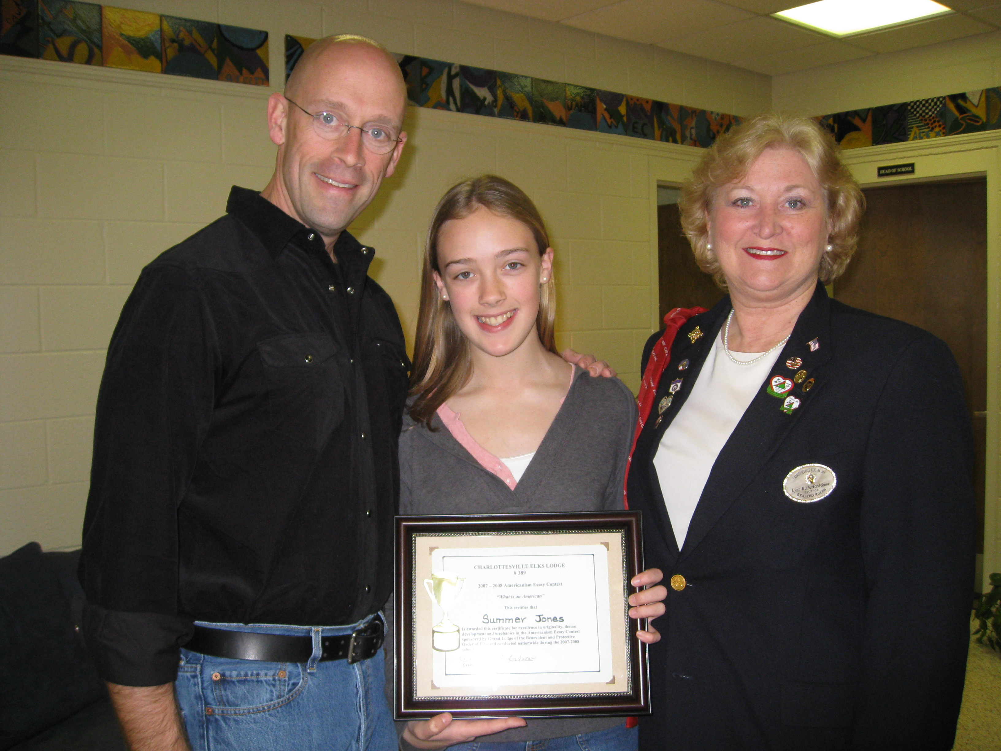 elks lodge essay contest
